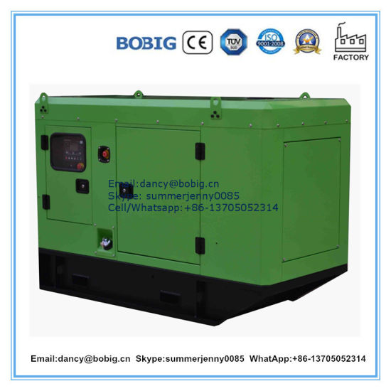 High Quality 48kw 60kVA Silent Type Diesel Generator with Cummins Dcec Engine