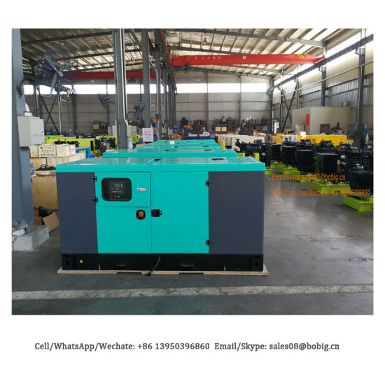10, 20, 30, 50, 100, 200, 300, 500, 800, 1000kVA Kw Brushless Brands Diesel Generator Set