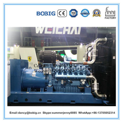 Baudouin 480kw 600kVA Power Generator with Good Quality