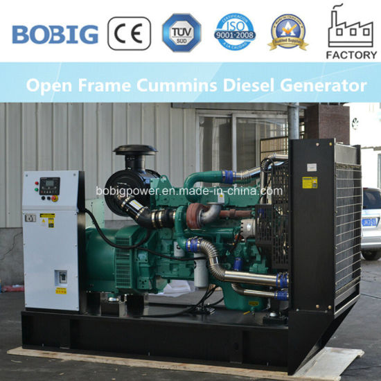 100kw Cummins Diesel Electric Generator Set for Industrial Use